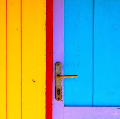 La porta colorata di Gloria Staffa