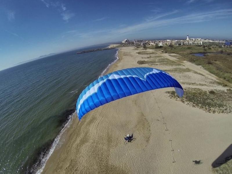 Ozone Spark beginner paramotor wing