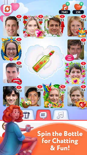 Party Room: Spin the Bottle for Fun!  captures d'écran 1