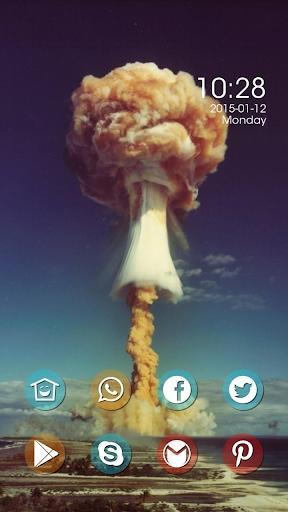 Yellow Mushroom Clouds