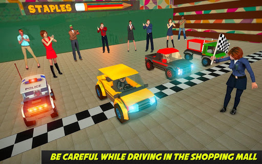 Shopping Mall electric toy car driving car games 1.1 9