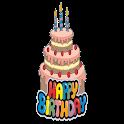 Happy Birthday Stickers WAStickerApps icon