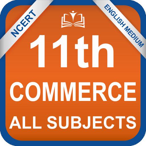 NCERT 11th Commerce All Books English Medium