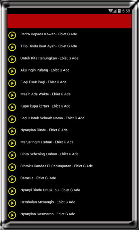Lirik Lagu Elegi Esok Pagi : lirik, elegi, Lirik, Ebiet, Download, Music, Audio
