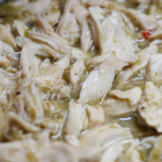 Crock Pot Salsa Verde Chicken.