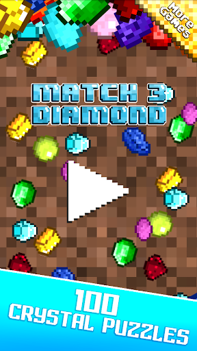 Match 3 diamond