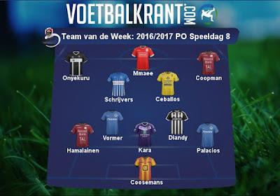 Zulte Waregem én Club hebben twee vertegenwoordigers in het Team van de Week