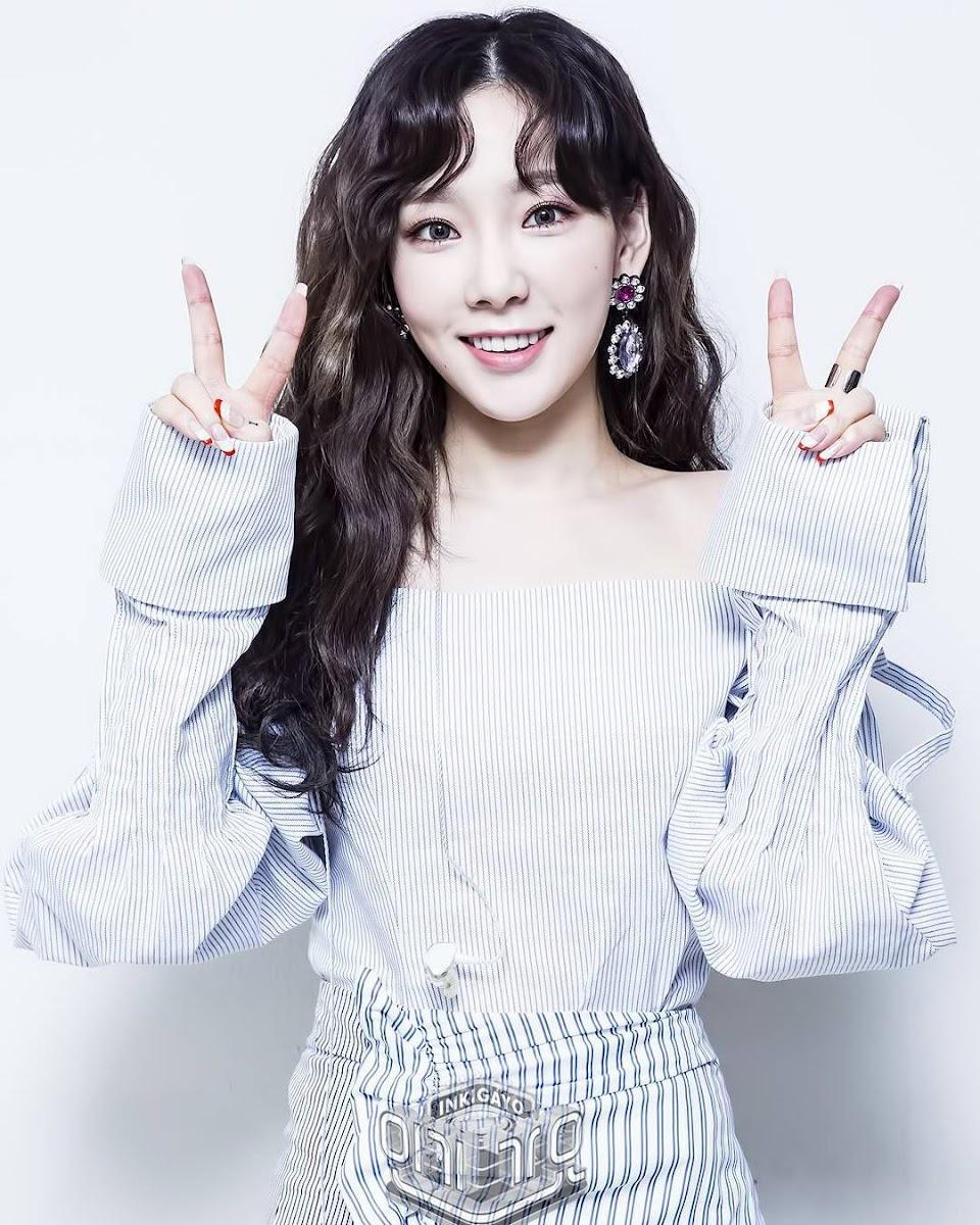 taeyeon curly 8