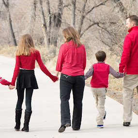 Together by Roberta Lott-Holmes - People Family ( silent expressions photography colorado, holiday photos, family portraits, family, colorado,  )