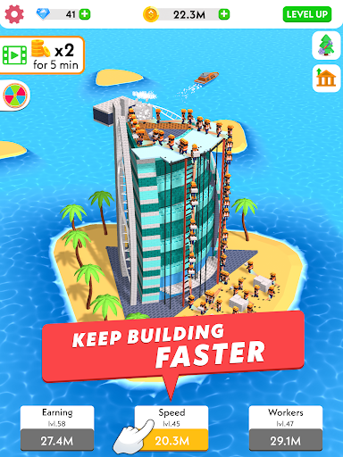 Idle Construction 3D screenshot 9