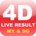 Live 4D Result (MY & SG) icon