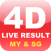 Live 4D Result (MY & SG)