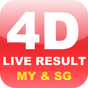 Malaysia Singapore 4D Live Result 2.1.3 by MMobi Studio logo