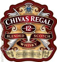 Logo for Chivas Regal 12 Year Old