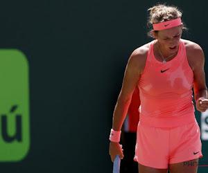Victoria Azarenka heeft WTA-toernooi van Cincinnati op haar naam gezet zonder dat ze moet spelen in de finale