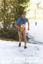 Photo: trail nivolet revard 2004