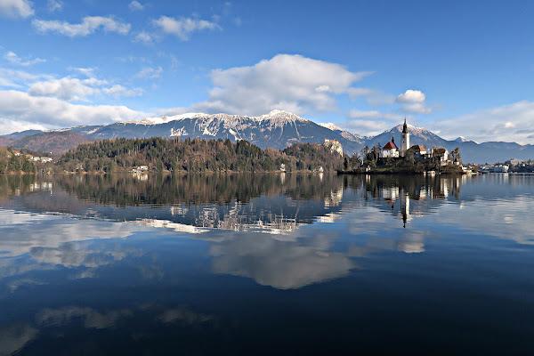 Riflessi sul lago di Bled di Yoyo