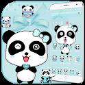 Blue Love Panda Theme icon