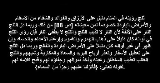 tafsir al ahlam تفسير الاحلام