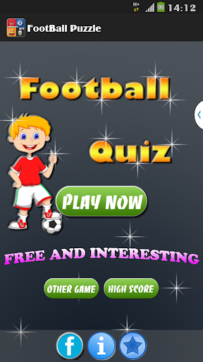 Football Puzzle Quiz -New 2016