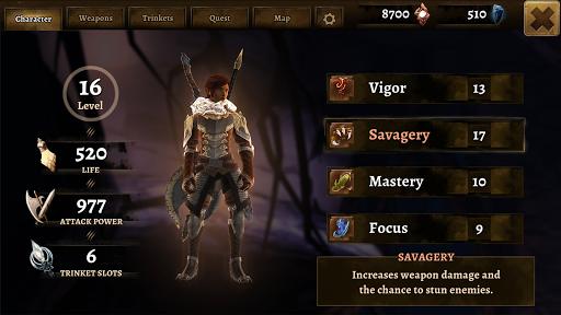 Grimvalor [Mod] Apk - Thế giới giả tưởng đen tối