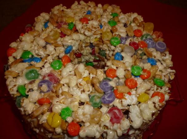 Pop Corn Cake Recipe