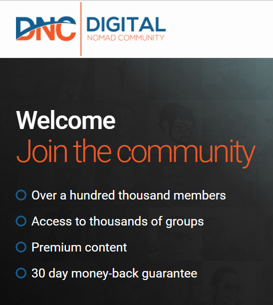 Comunidades de nómadas digitales Digital Nomad Community