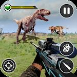 Dino Hunting Kill Safari Sniper Shoot Icon
