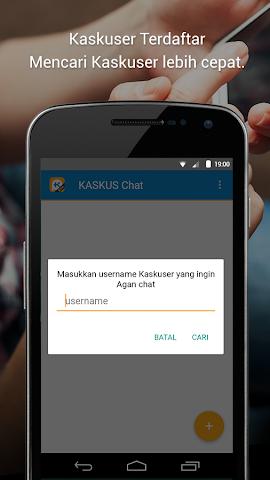 android KASKUS Chat Screenshot 1