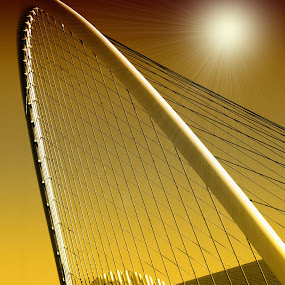 Olympic Stadium Athens by Costas Tsirgiotis - Buildings & Architecture Bridges & Suspended Structures