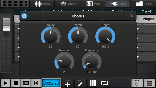 Audio Elements Demo 1.6.3 Screenshots 2