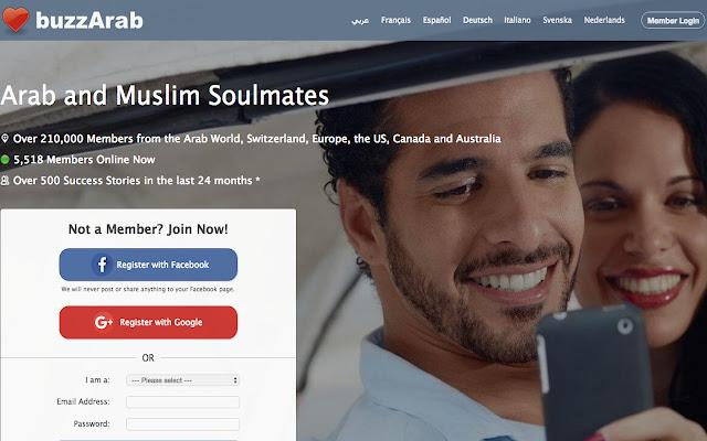 APK buzzArab - Single Arabs and Muslims