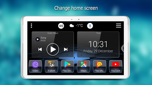 Android car pc launcher app