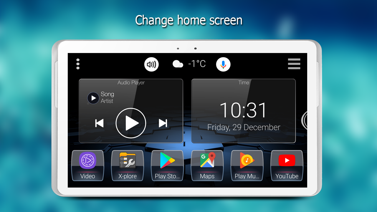 how to change android launcher on android auto