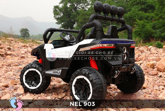 Xe ô tô điện địa hình NEL-903 4 động cơ 19