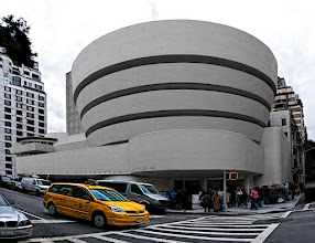 Photo: Here's a shot of the Guggenheim Museum in New York City that I took a couple of years ago. It's actually a pano created from 3 shots. I used a combination of Topaz Detail and Topaz Simplify to alter the look of the area surrounding the museum, but I masked out the effects on the museum itself.  http://jameshowephotography.com/blog/2011/09/guggenheim-museum-new-york-city.html/