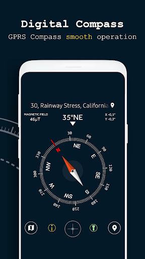 Digital compass - Smart Compass new 2019 2.1 screenshots 1