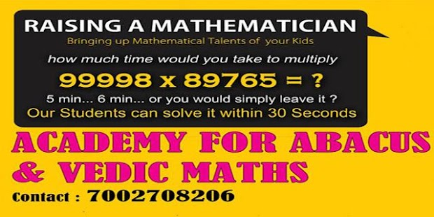 ACADEMY for Abacus and Vedic Maths - náhled