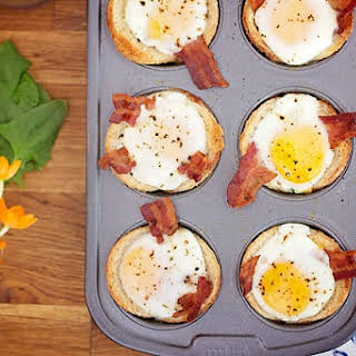 Breakfast Toast Cups.