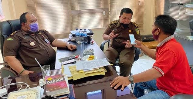 Audiensi Pernyataan Aksi Damai di Kantor Kejaksaan Negeri Aceh Tamiang Terkait Penanganan Kasus Dugaan Korupsi