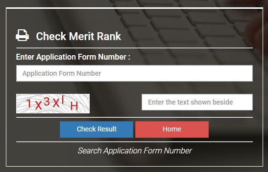 VOCLET 2021 Result/  Merit List