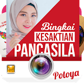 Pancasila Sanctity Photo Frame App : Potoya