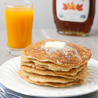 Thin Swedish Oatmeal Pancakes.