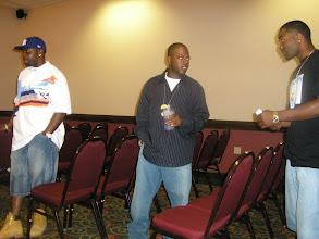 Photo: Rashid with groomsmen Kevin & Bobby