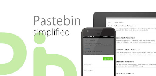 Pastebin Apps On Google Play - roblox pastebin get free catalog