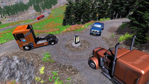 American Truck Cargo Car Transporter Driving 1.8 screenshots 5