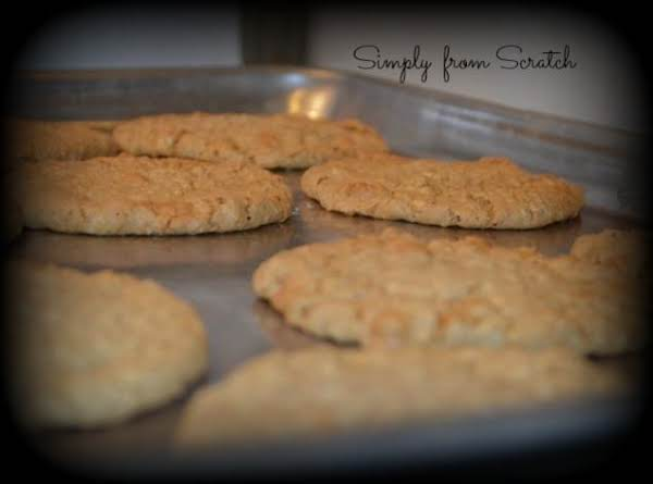 Butterscotch And Oatmeal Cookies
