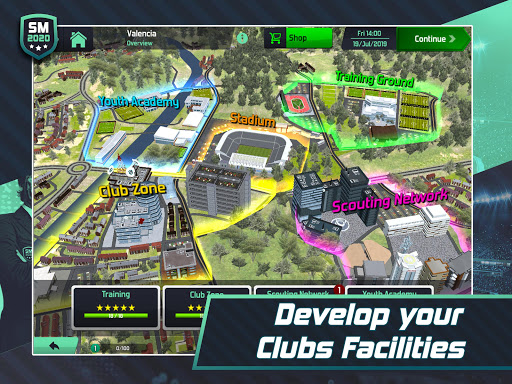 Soccer Manager 2020 - Football Management Game apkpoly screenshots 11
