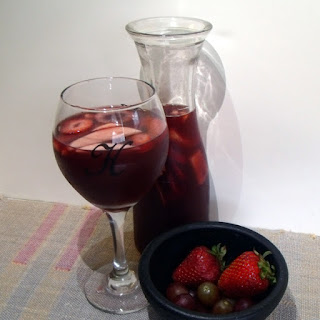 Fruity Summer Sangria.