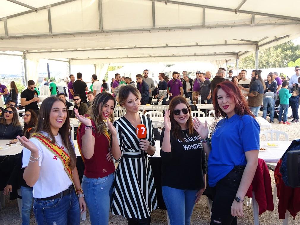 Reinas de las fiestas 2018 y 2019
